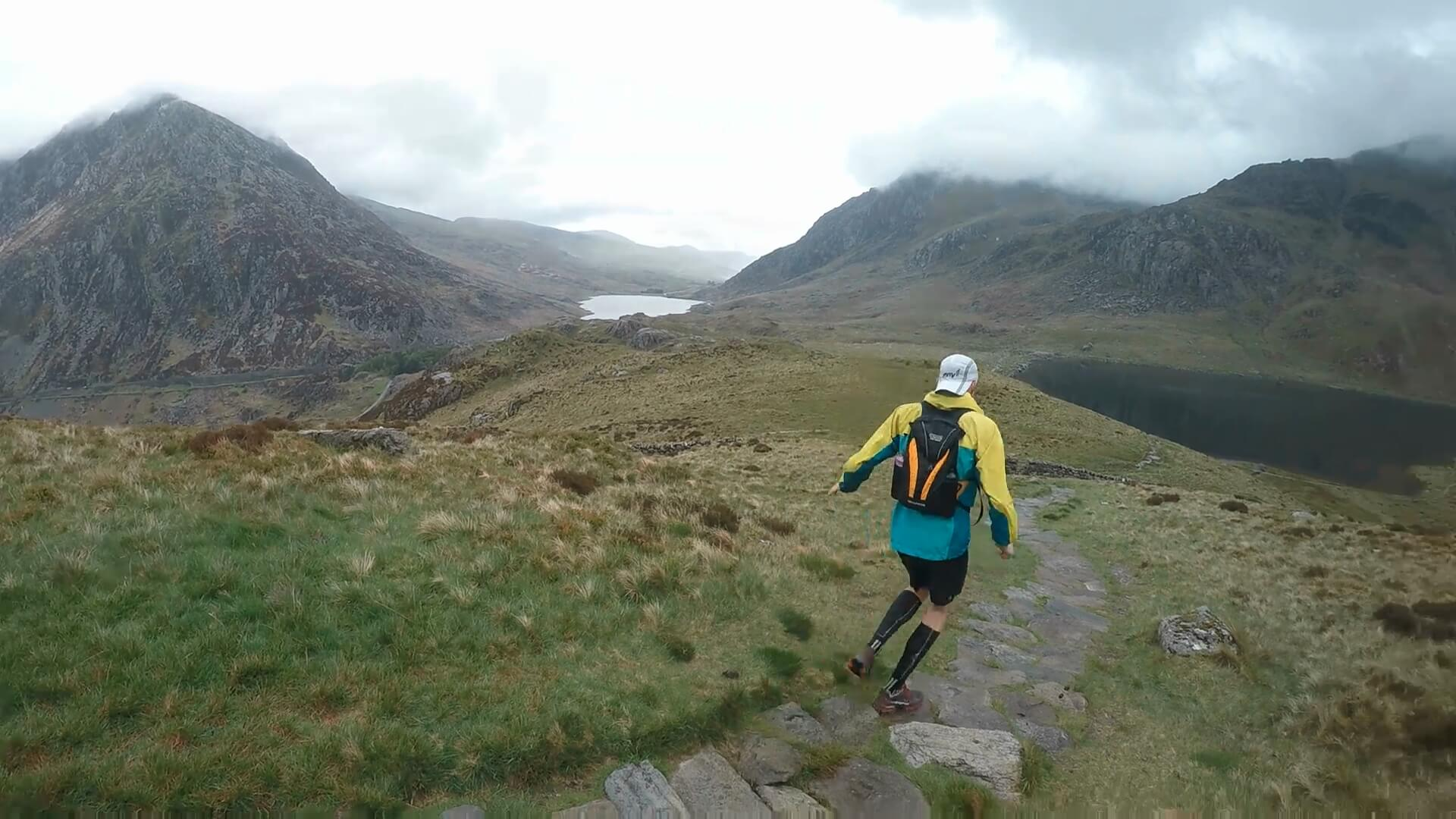 Training in Snowdonia for the Paddy Buckley Round, 100 km run