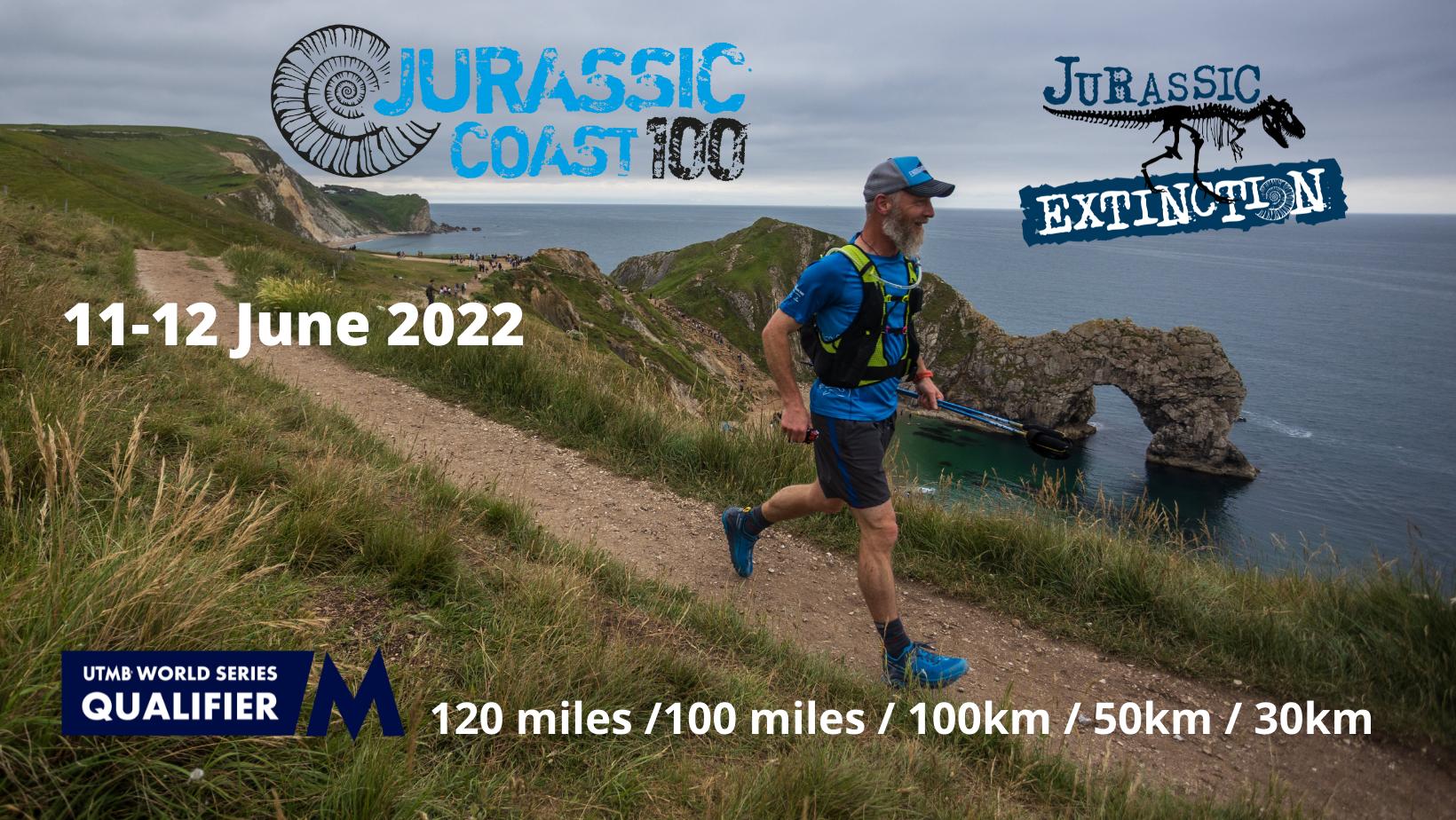 Jurassic Coast 100 Challenge Events